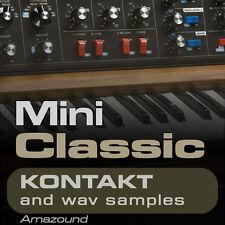 MINI CLASSIC for KONTAKT 200 nki INSTRUMENTS 1.8G 24bit WAV SAMPLES High Quality