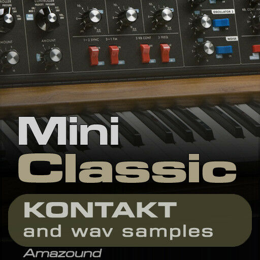 MINI CLASSIC SAMPLES for KONTAKT 237 NKI + 2226 WAV 24BIT MAC PC MPC LOGIC FL