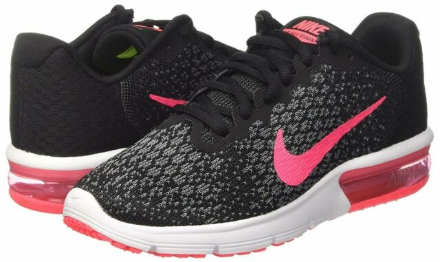 Nike Womens Air Max Sequent 2 FitSole Breathable Running Shoes for sale online