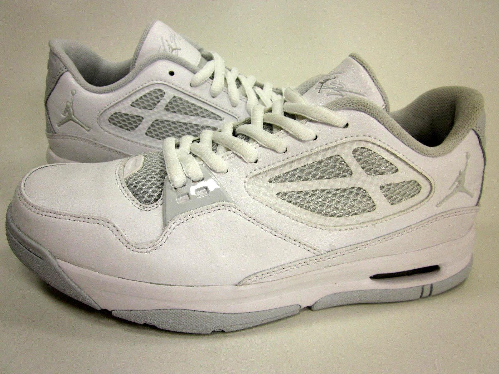 Jordan Fligero 23 rst bajo 525512 - 101, zapatos blancoos masculinos de baloncesto, talla estadounidense 8,5