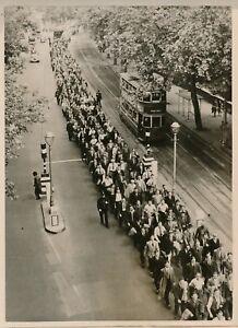 LONDRES-1949-Greve-Generale-des-Dockers-Royaume-Uni-PRB-526