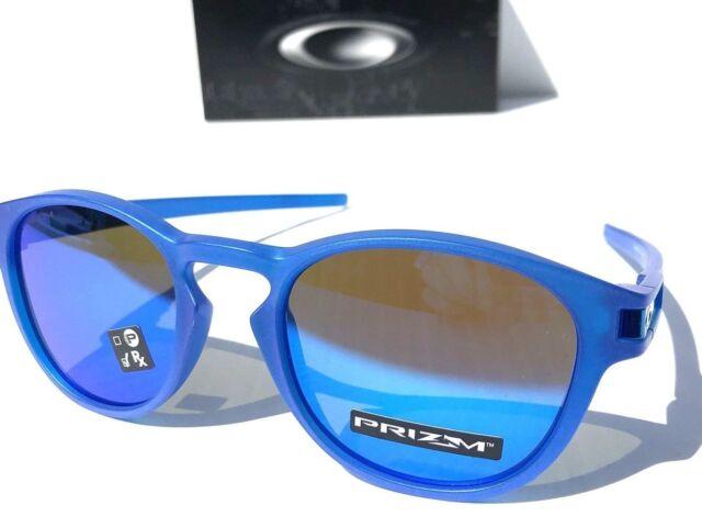 a39ac59e7e Oakley Latch Sunglasses Matte Crystal Blue Sapphire Iridium Oo9265 ...