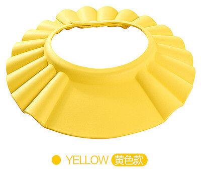 Adjustable Baby Kids Children Shampoo Bathing Shower Cap Hat Wash Hair Shield