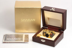 Sharan-MegaHouse-Classic-Camera-Collection-Miniaturkamera-Modell-Leica-M3-034-Gold-034