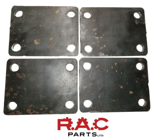 strengthening base plates Mild steel QTY 4 75 x 100 x 6mm Roll cage mounting