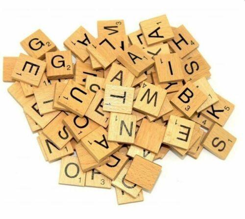 En Bois Scrabble lettre Tuile Scrabble lettre individuelle des lettres de choix