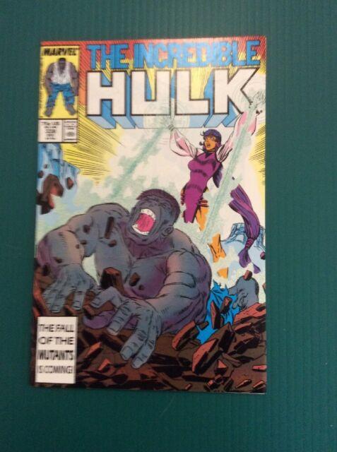 The Incredible Hulk #338 (Dec 1987, Marvel) Mcfarlane Free Ship Near Mint COMICS