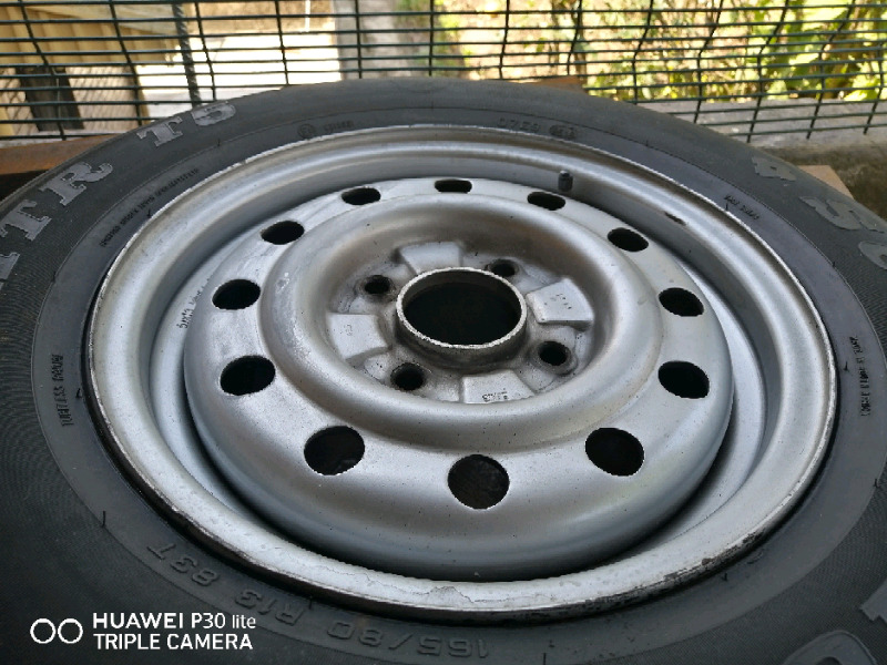 Ford rocam steel rim and tyre