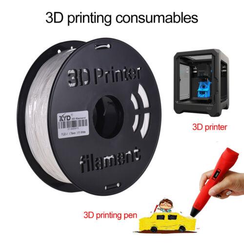 1KG// Spool 1.75mm Flexible TPU Filament Printing Material for 3D Printer M0X3
