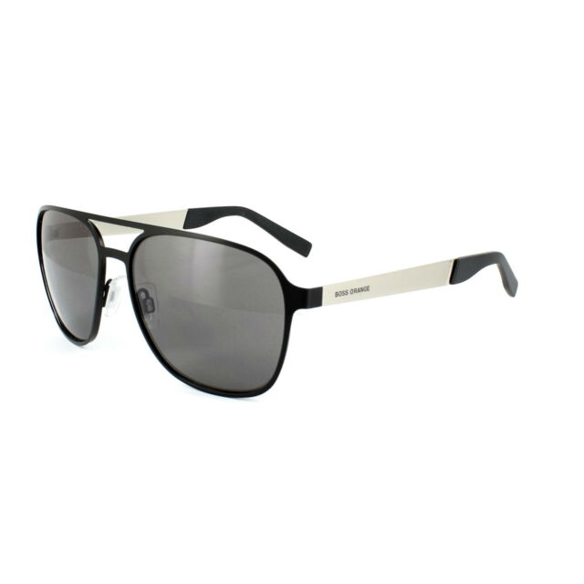 a9959e3d6ec Boss Orange Sunglasses 0226 92k Y1 Black Grey for sale online