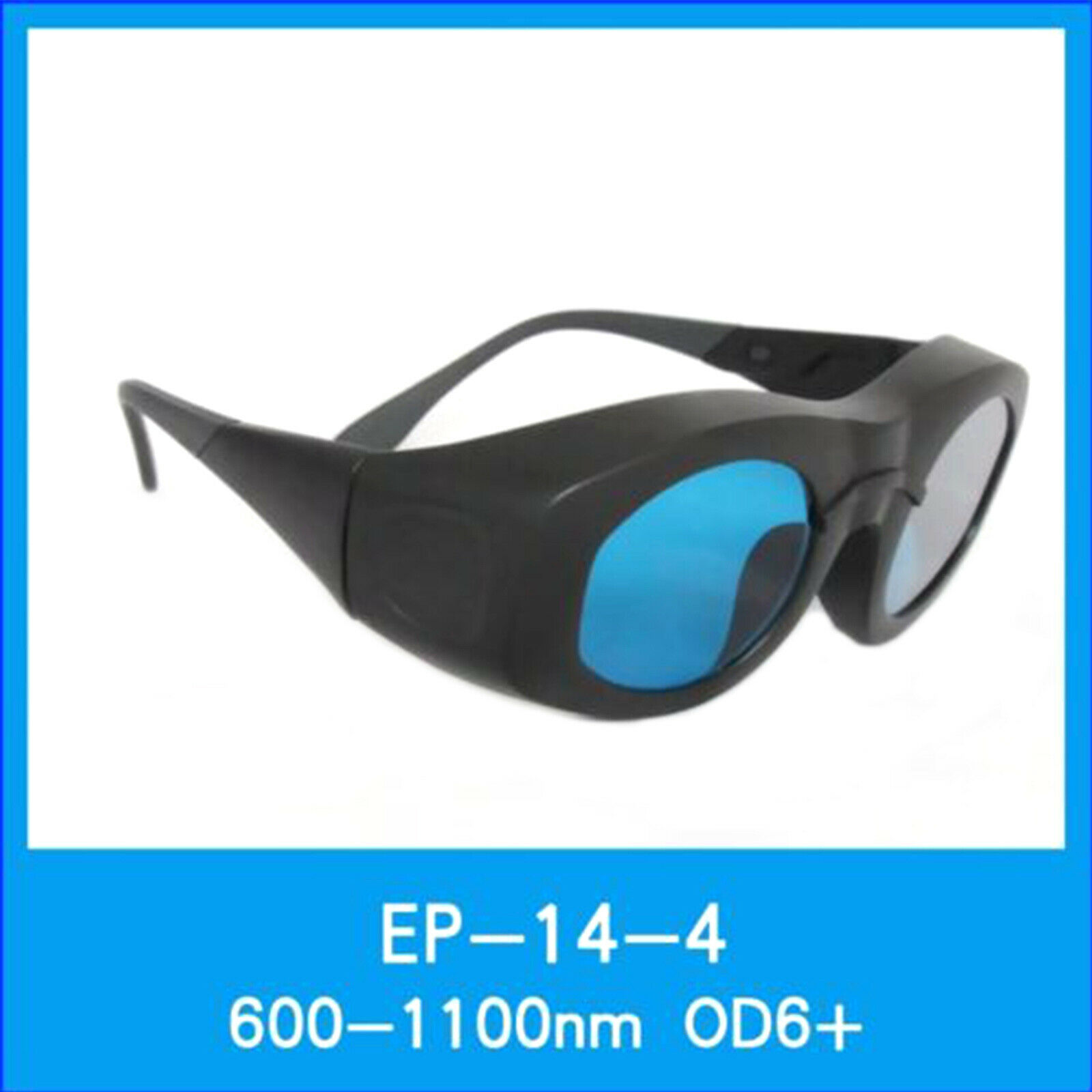 CE Red Infrared IR Laser Safety Protective Goggles 600nm-1100nm 1064nm OD6