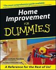 Home Improvement for Dummies® by Katie Hamilton and Gene Hamilton (2016, Paperback)