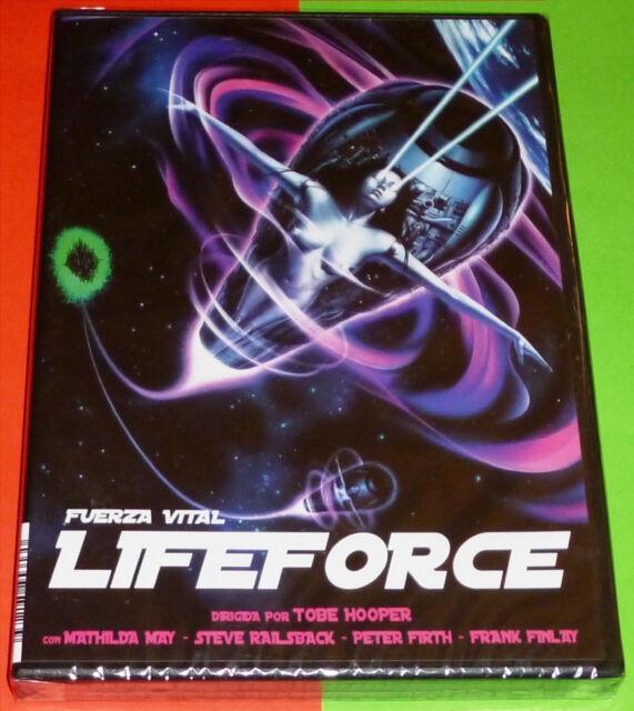 LIFEFORCE Fuerza Vital / English Español DVD R2 Precintada