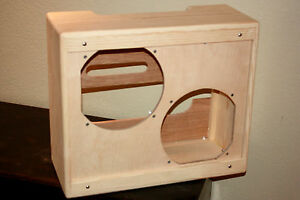 Details about rawcabs Blues Junior narrow panel 2x12 pine empty combo  cabinet
