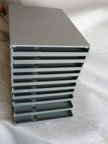 Styroval Schubladenbox  Ablageboxen 10 Fächer gebraucht  1 Stück
