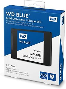 HARD DISK STATO SOLIDO SSD WESTERN DIGITAL BLUE 500GB SATA WDS500G2B0A