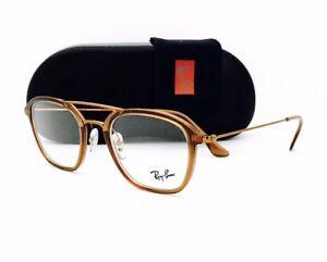 92f4ff83f7f New Ray Ban Eyeglasses 7098 5634 Brown Bronze Copper 50•21•145 W ...