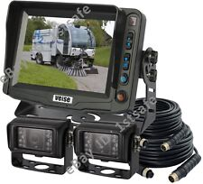"""5"""" Agriculture Backup Camera System+2 Rear View Cameras 1/3"""" SONY 700TVL"""