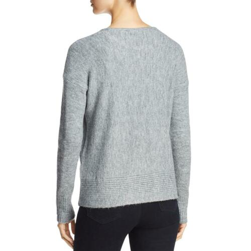 Design History Womens Distressed Lon Sleeves Pullover Sweater Top BHFO 9327