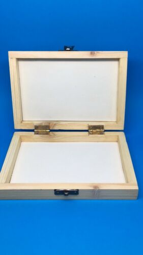 Salmon And Trout Flies Fly Fishing Wooden Fly Box with Flat Foam