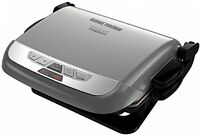 3-in-1 Multi-plate Evolve Grill, Cooking Ceramic Digital Removable Platinum on sale