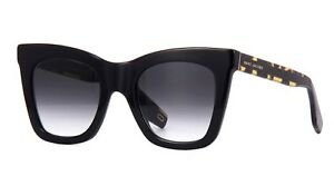 a4ceb32f352e NEW】Marc Jacobs 279/S Cat Eye Sunglasses - Black - Gradient Lens ...