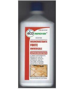 Detergente Pulitore Disincrostante Acido Dopo Posa Per Boiacche Stucco Cemento