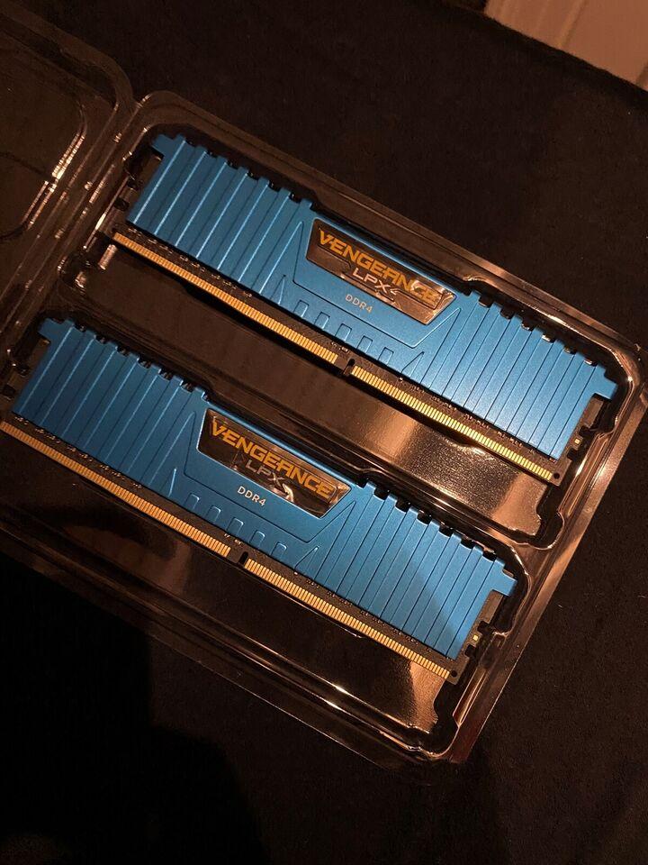 Corsair, 16GB, DDR4 SDRAM