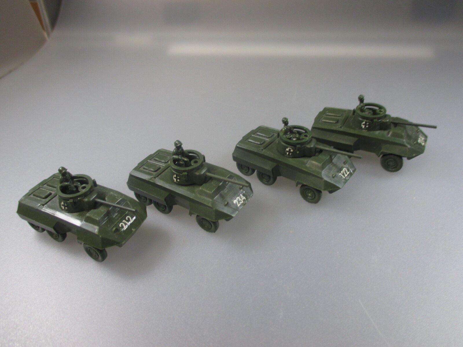 Roskopf RMM RMM RMM  Konvolut 4x Jagd-Panzer (Schub60) 01d667