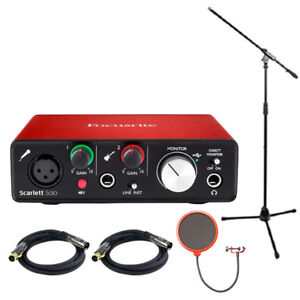 Focusrite-Scarlett-Solo-USB-Audio-Interface-2nd-Generation-w-Pro-Tools-Bundle