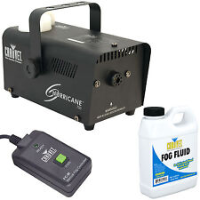 Chauvet H-700 Hurricane 700 Halloween Fog/Smoke Machine with Fluid & Remote
