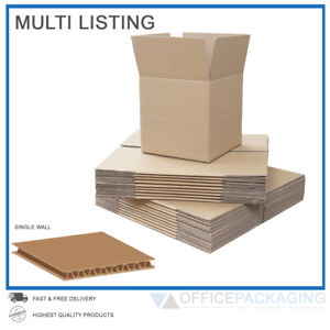 SINGLE-WALL-CARDBOARD-BOXES-MOVING-POSTAL-SMALL-amp-LARGE-HIGH-QUALITY-CARTONS