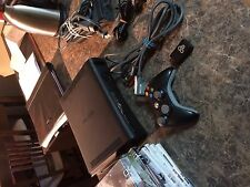 Microsoft Xbox 360 Elite Launch Edition 120GB Matte Black Console (NTSC) 9 GAMES