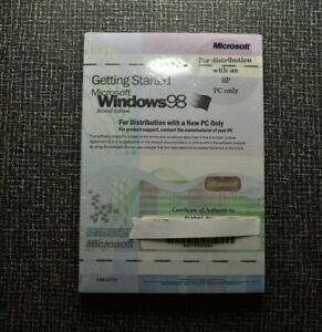 NEW SEALED Microsoft Windows 98 COA Operating System ...