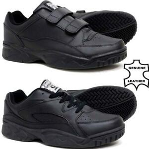 Mens-New-Casual-Leather-Wide-Fit-Walking-Running-Gym-Trainers-Driving-Shoes-Size