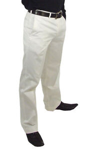 NEW-Marco-Carlotti-Mens-White-Trousers-Cotton-Top-Quality