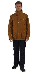 9ff2c10f7 Details about BRAND NEW! REGATTA Great Outdoors Men's ELWIN Waterproof  Jacket - Cumin SZ M