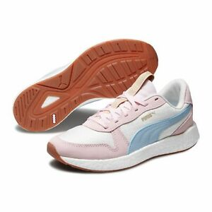 Details about Puma Nrgy Neko Retro Sweet What Vintage Fitness 192748 Ladies Whisper White
