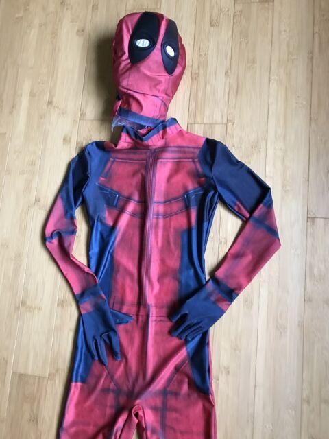 Halloween Spiderman Superhero Spandex Zentai Cap Mask Headwear Cosplay Costume