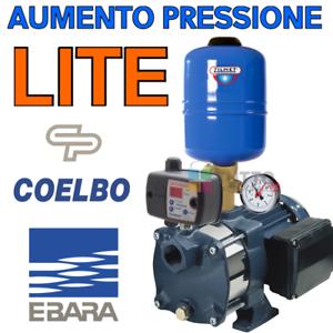 Kit Pompa Aumento Pressione Acqua Ebara Autoclave Silenziosa