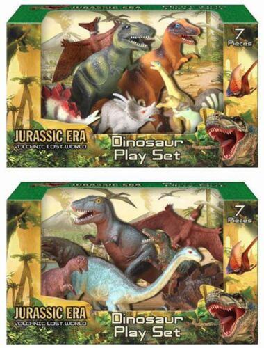 Giurassico VULCANICA Lost World 7 PEZZI DINOSAURI Playset ~ design Varia