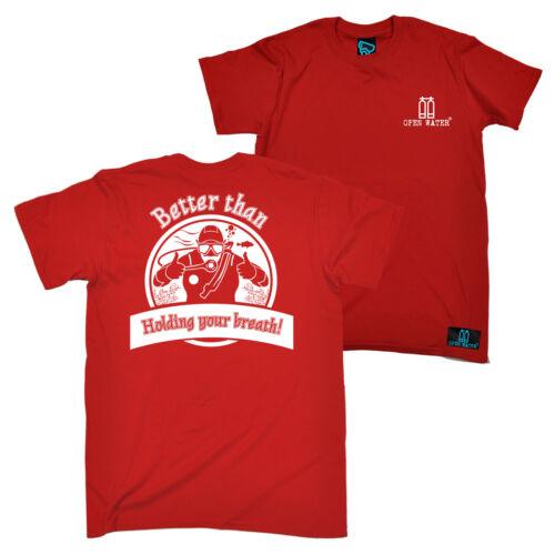 FB Scuba Diving Tee Novelty Birthday Mens T-Shirt Better Than Holding