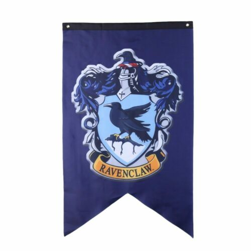 School Flag Banner Wizarding World House Groups Wall Decor Sign For Bedroom