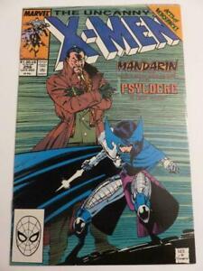 Uncanny-X-Men-256-VF-8-0-First-Appearance-Psylocke-as-Lady-Mandarin