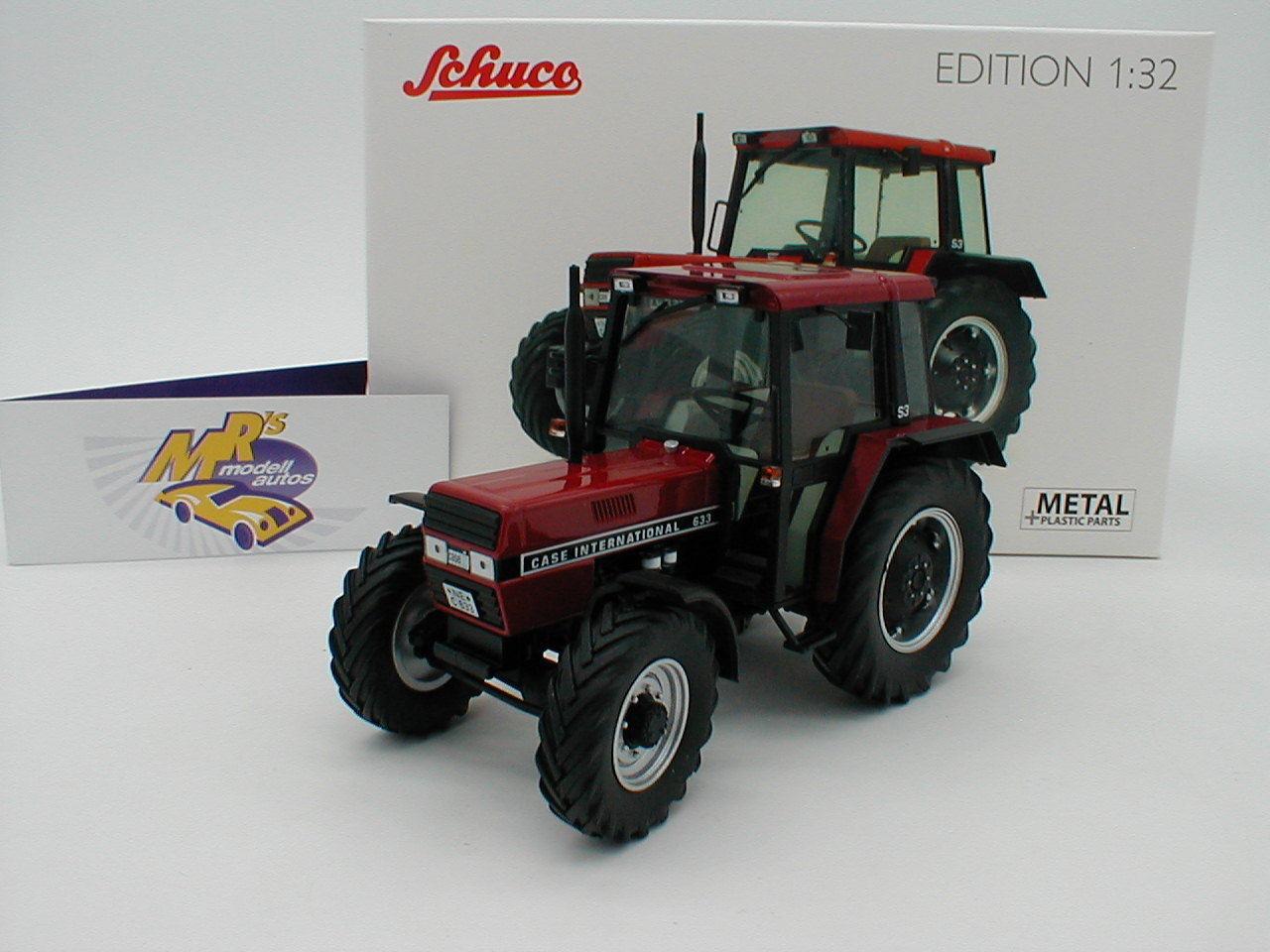 Descuento del 70% barato Schuco 07794-case International 633 con cabina año de fabricación fabricación fabricación 1976 en  rojo  1 32  Mejor precio