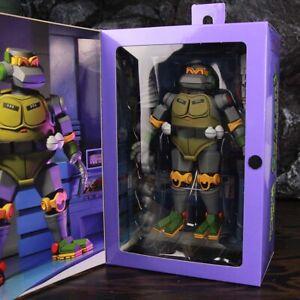 """NECA Teenage Mutant Ninja Turtles TMNT The Mighty Metalhead 7/"""" Action Figure"""