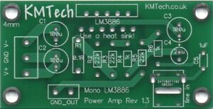 Quality-LM3886-based-mono-amplifier-Chipamp-Gainclone-PCB-only-DIY-Audiophile
