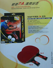 For serious player! Table Tennis racket ping pong paddle bat blade 7A-C(LONG USA