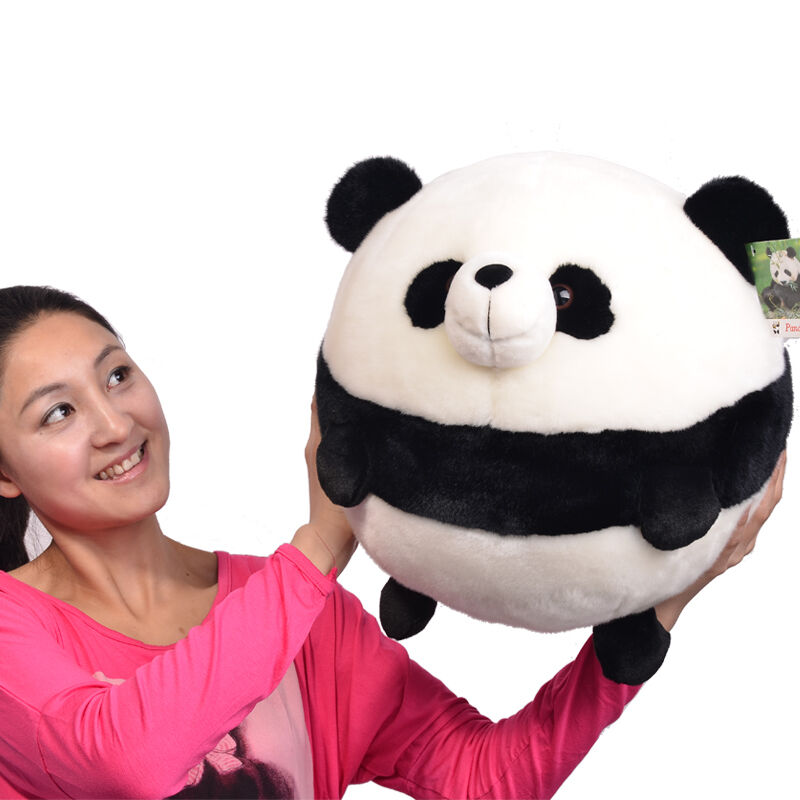 Plush Rounded PANDA Stuffed Animal Doll plush soft Toys doll Valentine Xmas Gift