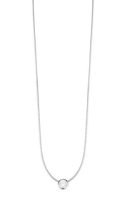 Esprit Collar women Tender Solitario Esnl92855a420 silver 925